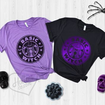 Basic Witch Starbucks Halloween Shirt