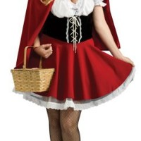Secret Wishes Plus-Size Red Riding Hood Costume