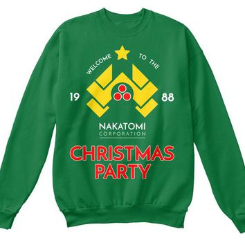 Nakatomi Corp Party 1988 Ugly Christmas Sweater