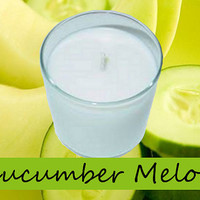 Cucumber Melon Scented Candle in Tumbler 13 oz
