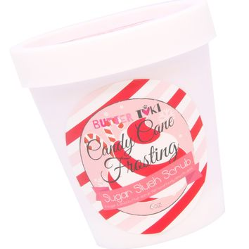 Candy Cane Frosting Sugar Slush Scrub 6oz Holiday Collection