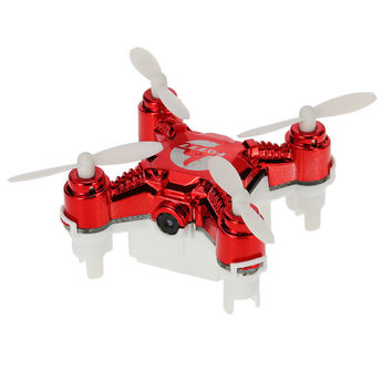 Mini Drone Professional 124C 2.4G 4CH 6-Axis Gyro One Key Return Pocket RC Quadcopters Drones With Camera HD 2.0MP SD Card LED