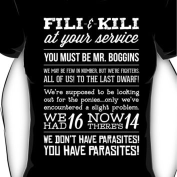 [The Hobbit] Fili & Kili Women's T-Shirt