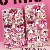 iphone 5s case, bling gem iphone 5 case, jewel iphone case, unique iphone case ,3d iphone 5c case ,rhinestone iphone5 case, iphone5 cases