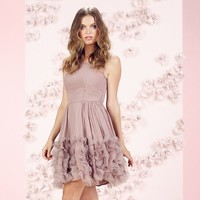 LC Lauren Conrad Runway Collection Ruffle Organza Dress - Women's