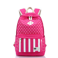 College Back To School Hot Deal Comfort On Sale Casual Canvas Travel Bags Korean Stylish Bags Backpack [6304975044]