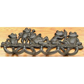Multiple Frog Hook Cast Iron