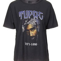 Tupac Tee by And Finally - Black