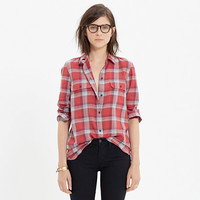 Ex-Boyfriend Shirt in Cherry Plaid