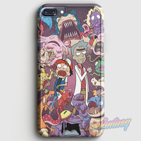 Rick And Morty iPhone 7 Plus Case | casefantasy