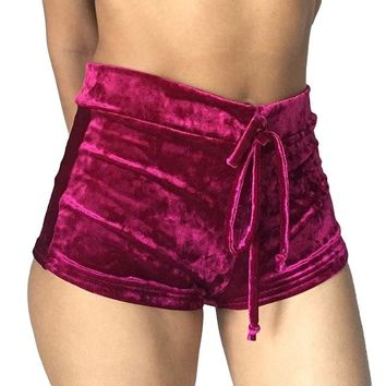 Hot Shorts Women'S Loose  Fashion Flannel Velvet Short Feminino Comfortable Pantalones Cortos Mujer Short Pants Women Sportwear PinkAT_43_3