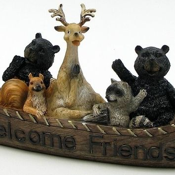 Wildlife Welcome Canoe