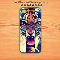 Cross Tiger,iPhone 5/5S Case,iPhone 5C case,iPhone 4 Case, iPhone 4S Case,Galaxy Samsung S3, S4,S5