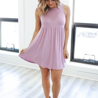 In the Meadow Dress - Lilac