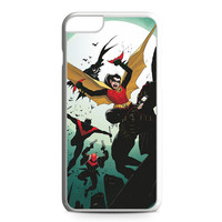 Robin, Red Robin, Red Hood and Nightwing iPhone 6 Plus Case