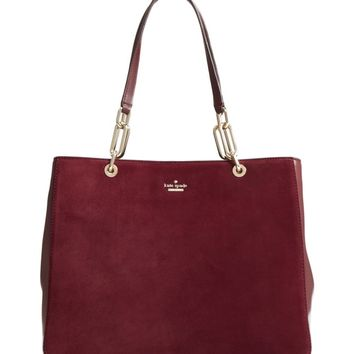kate spade new york robson lane - kellen suede shoulder bag | Nordstrom
