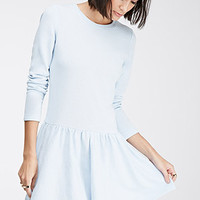 Drop-Waist French Terry Dress
