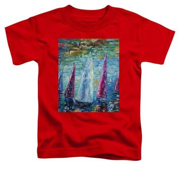 Sails To-night - Toddler T-Shirt