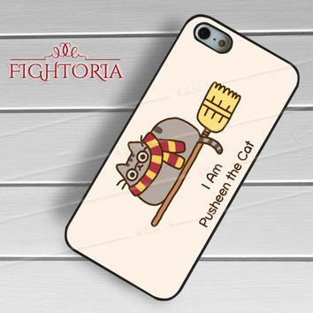 Cat as Harry Potter -tri for iPhone 4/4S/5/5S/5C/6/6+,samsung S3/S4/S5/S6 Regular/S6 Edge,samsung note 3/4