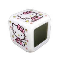 SXL Hello Kitty Alarm Clock w/ Soothing LED Lights & Thermostat