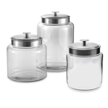 Anchor Hocking® Montana Glass Jar with Lid