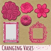 Changing Vases: Think Pink and Grab a Freebie
