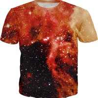 Magnetic Cloud | Universe Galaxy Nebula Star Clothes | Rave & Festival Shirt