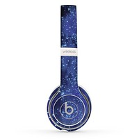 The Glowing Purple V2 Orbs of Light Skin Set for the Beats by Dre Solo 2 Wireless Headphones