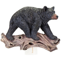 Bear On Log 3D Nightlight