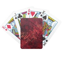 Red Passion Playing Cards