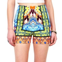 Opulent High Waist Shorts | Shorts at Pink Ice