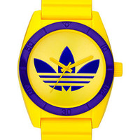 adidas Watch, Yellow Polyurethane Strap 42mm ADH2721 - All Watches - Jewelry & Watches - Macy's
