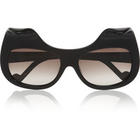 Anna-Karin Karlsson - When Trouble Came To Town square-frame acetate sunglasses