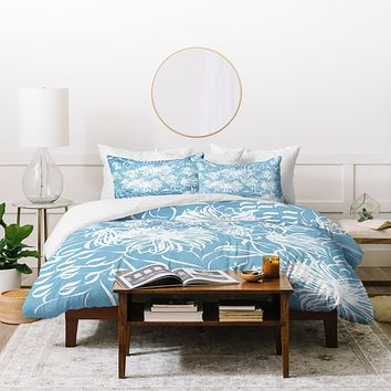 Vy La Cool Breezy Blue Duvet Cover