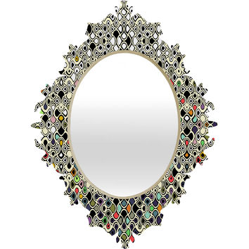 Sharon Turner Cellular Ombre Baroque Mirror