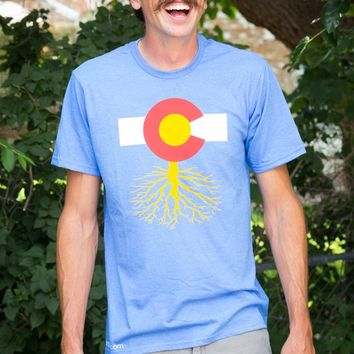 Unisex Blue Colorado Roots T-Shirt