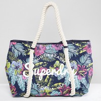 Superdry Bay Shore Tote Bag at asos.com