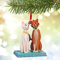 Duchess and O'Malley Sketchbook Ornament - The Aristocats