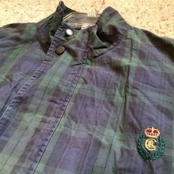 Sale!! Vintage Chaps Ralph Lauren casual track jacket size Large Free shipping within