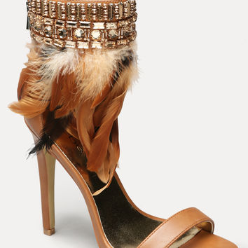 bebe Womens Yvana Feather Sandals