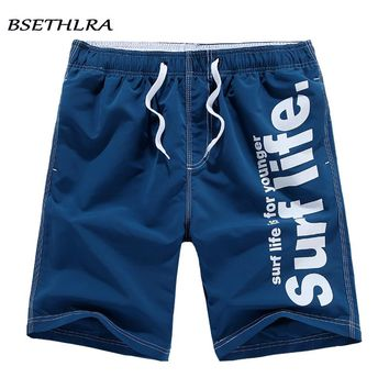 Elastic Plus Size 5XL Men's Shorts Swimwear Summer Casual Fashion Beach Board