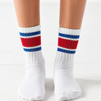 Out From Under Sporty Gym Crew Sock | Urban Outfitters