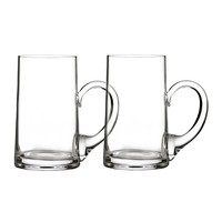 Elegance Beer Mugs, Set of 2 - Waterford Crystal