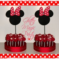 Shop Minnie Mouse Party Decorations on Wanelo