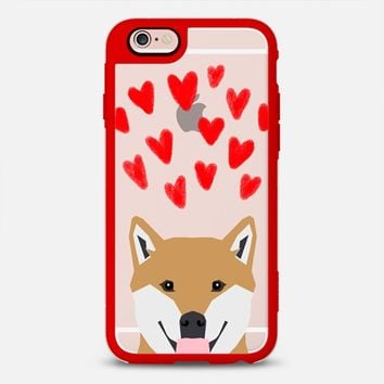 Latest Fashion Tech iPhone Case by Casetify | Shiba Inu Design by Pet Friendly (iPhone 6, 6s, 6 Plus, 6s Plus, 7)