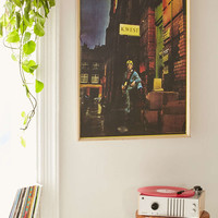 David Bowie Ziggy Stardust Poster - Urban Outfitters