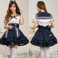 Lolita sailors navy dress