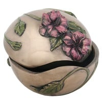 Arts and Crafts Poppy Trinket Box