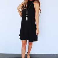 Always Charming Dress: Black