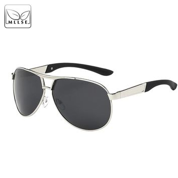MLLSE Men Sunglasses for Men Goggles High Quality Fashion Adult Polarized Top Grade Sunglasses
